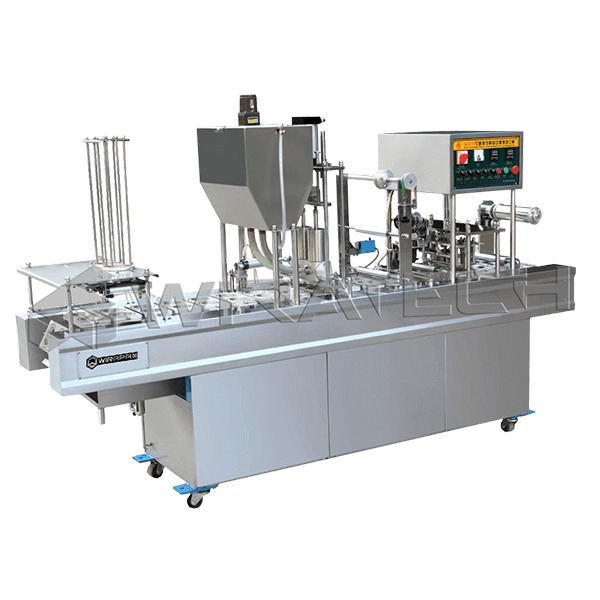 Mesin Auto Cup Filling Sealing 2 Line
